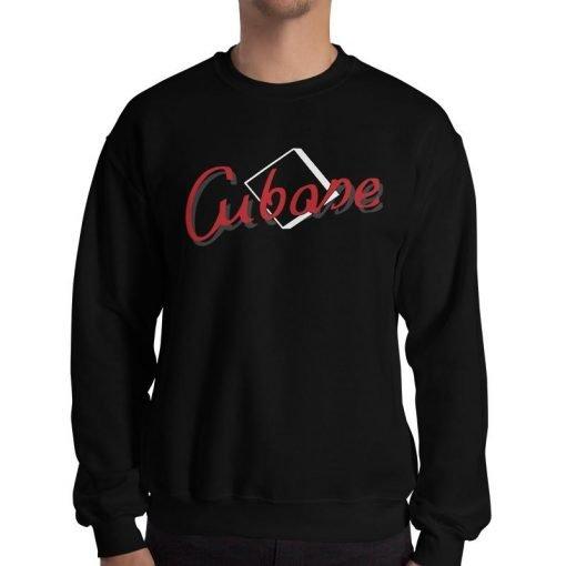 Cubase Gildan 18500 Unisex Heavy Blend Crewneck Sweatshirt Front Man Black
