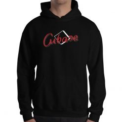 Cubase Gildan 18500 Unisex Heavy Blend Hooded Sweatshirt Front Mens Black