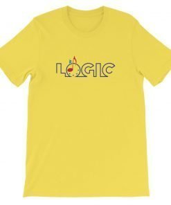 Emagic Logic Bella+Canvas 3001 Unisex Short Sleeve Jersey T-Shirt Front Flat Yellow