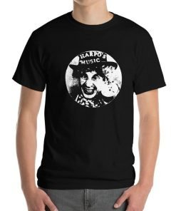Harpo's Music Gildan 2000 T-Shirt Front Mens Black