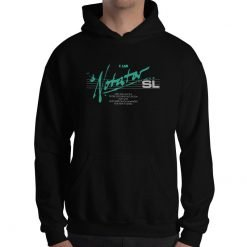 Notator SL Gildan 18500 Heavy Blend Hooded Sweatshirt Front Mens Black