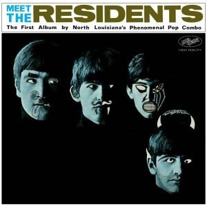 "Cover of the Residents first album ""Meet the Residents"""