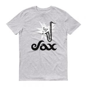 Sax Anvil 980 Lightweight T-Shirt Front Flat Heather Grey