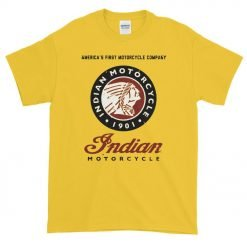"Photo of the ""Indian Motorcycle"" T-Shirt by Gamiani."