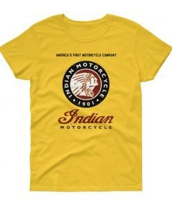 Indian Motorcycle t-shirt for ladies.