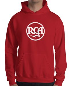 RCA Radiotron Theremin Hooded Sweatshirt by Gamiani.com