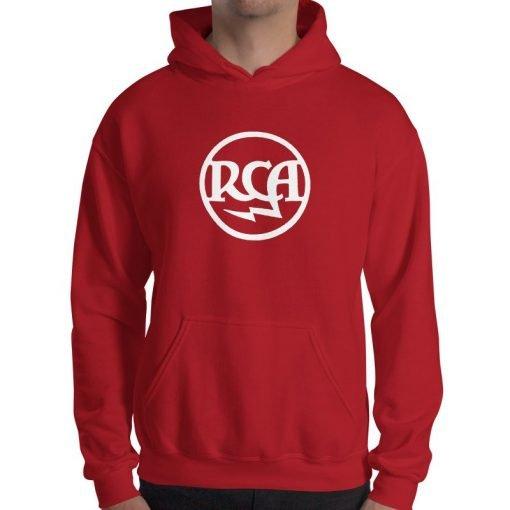 RCA Radiotron Theremin Hooded Sweatshirt by Gamiani.com