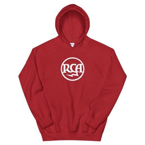 Photo of the RCA Radiotron Theremin hooded sweatshirt by Gamiani.com.