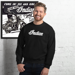 Indian Retro black Sweatshirt by Gamiani.com