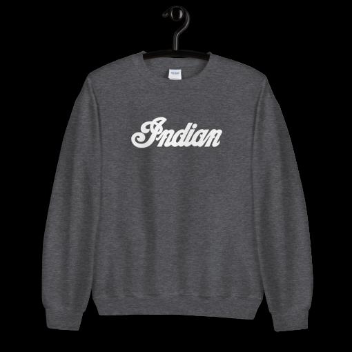 Indian Motorcycle Retro Black Sweatshirt by Gamiani.com